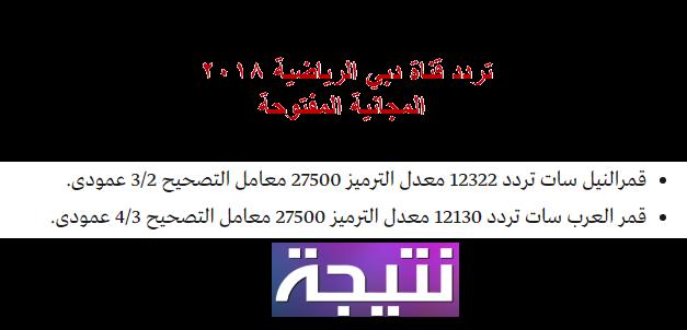 تردد قناة دبي الرياضية 2018 المفتوحة على النايل سات وعرب سات Dubai Sport hp