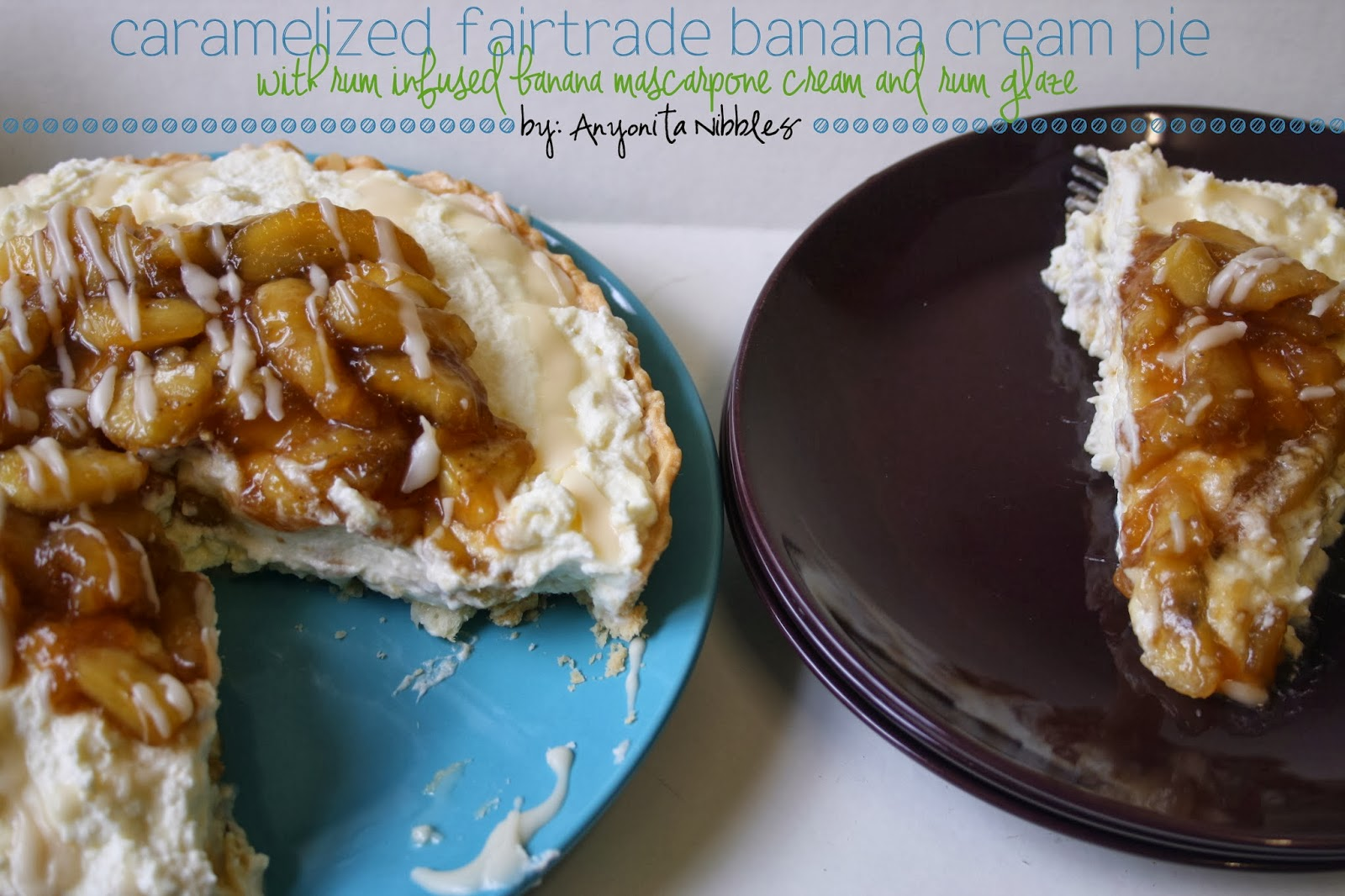 Caramelized Sainsburys Fairtrade Banana Cream Pie from www.anyonita-nibbles.co.uk