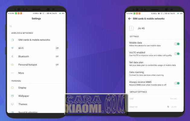 Link Download Tema Xiaomi Seperti Samsung S8 Pro Mtz Terbaru For MIUI
