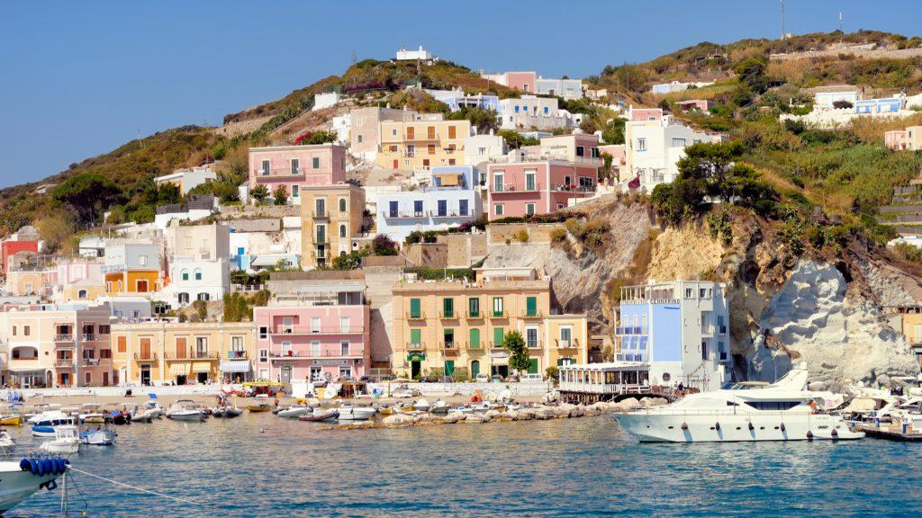 Isola di Ponza nel Lazio