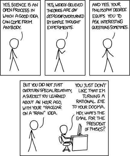 xkcd comic: Revolutionary