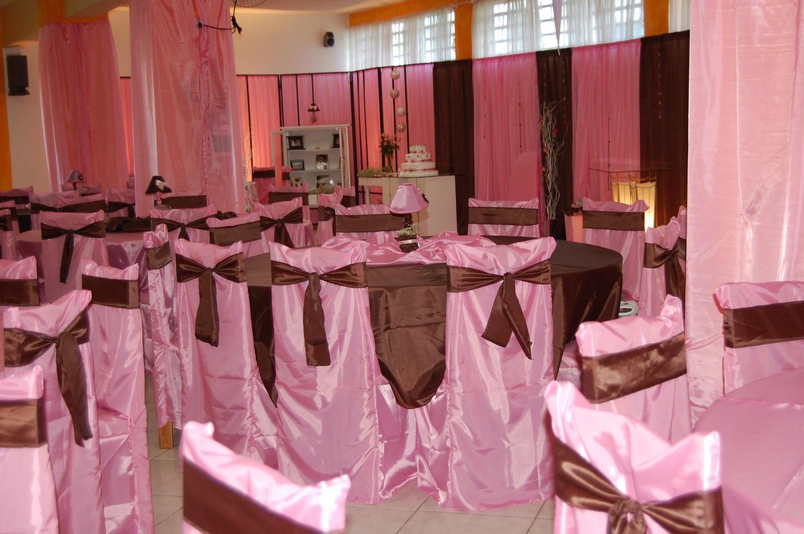 Decoracoes Para Festas 15 Anos: Gurias Decorações De Festas: 15 Anos Rosa E Marrom