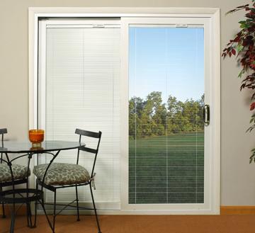 Ordinaire Patio Doors With Blinds Inside Photos
