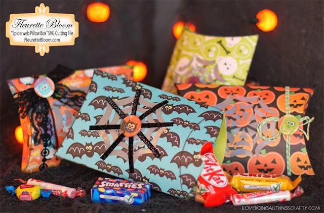 Spiderweb Pillow Treat Boxes | Ink On 3 Files