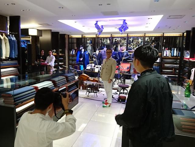 新宿伊勢丹メンズ13周年記念パーティー