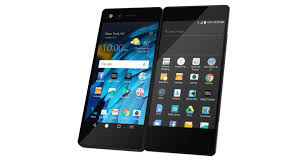 ZTE Axon M هاتف بشاشة عرض مزدوجة قابلة للطي.