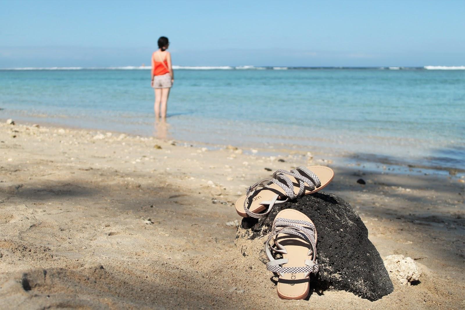 gotoreunion vacances holidays île de la réunion 974 océan indien plage beach lagon ermitage hermitage saline les bains tenue ootd look blog mode femme cache cache creeks by la halle eram eau turquoise sable blanc  myeramtouch