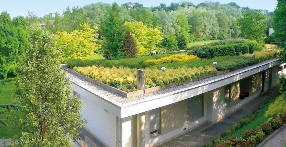Il tetto piano e l architettura moderna edilizia in un click - Le corbusier tetto giardino ...