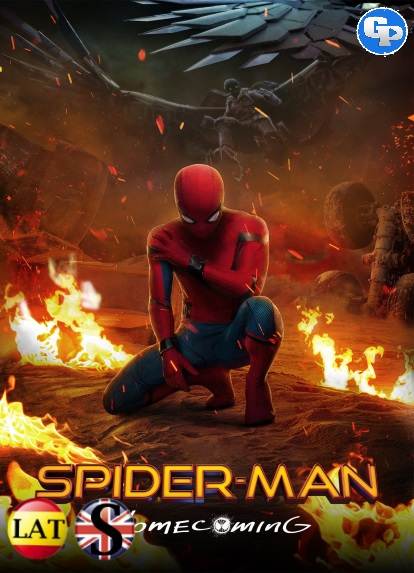 Spider-Man de Regraso a Casa (2017) HD 1080P LATINO/INGLES