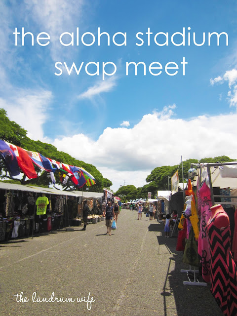 Canfield Swap Meet >> And Drink the Wild Air: Getting to Know Hawaii: Aloha Stadium Swap Meet