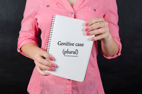 Genitive case (plural)