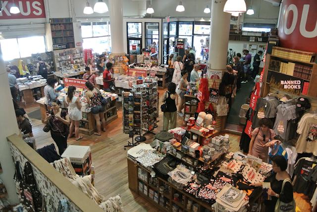 Livraria The Strand Bookstore em Nova York