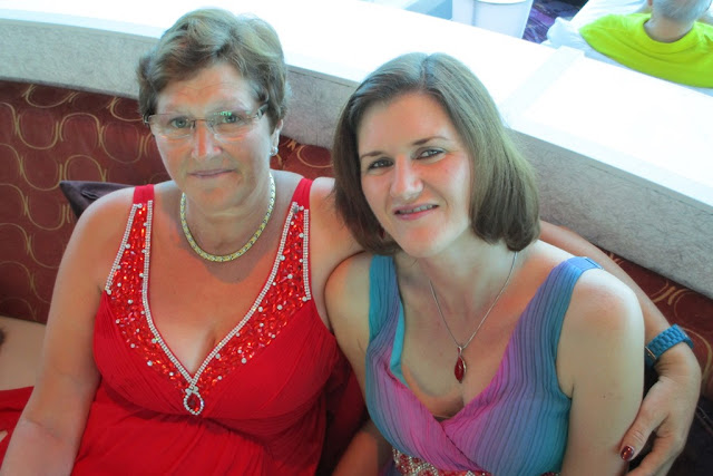 Celebrity Eclipse Formal Evening mother daughter