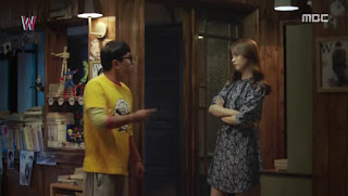 Sinopsis W - Two Worlds Episode 3 - 1