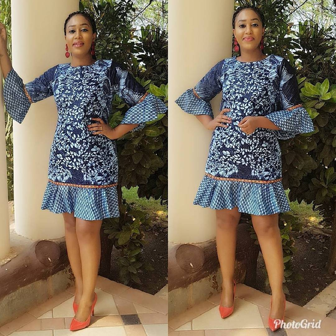 40 Latest New Ankara Short Gown Styles 2018 For Bright Ladies African Fashion Trend Latest