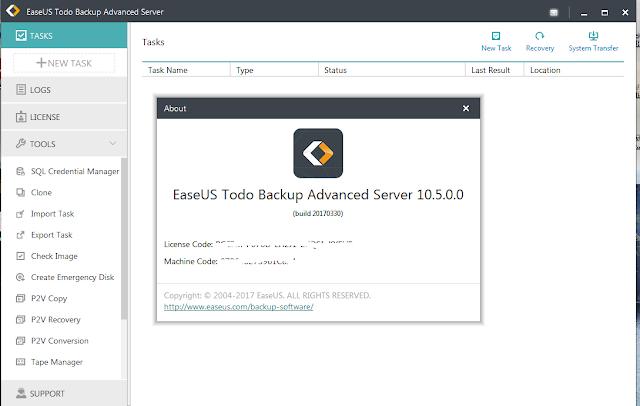 EASEUS Todo Backup Advanced Server 10.5.0.2 + Patch + crack (FULL)