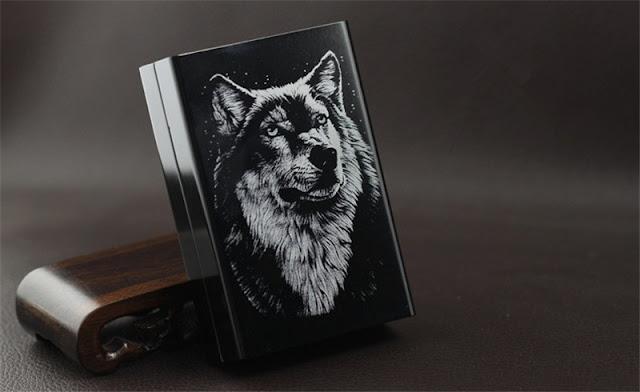 Laifu papierośnica 5 wilk