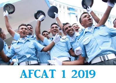 AFCAT 1 2019