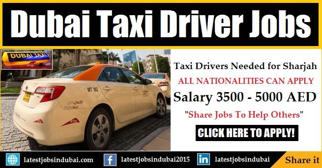 Dubai Taxi Driver jobs in UAE