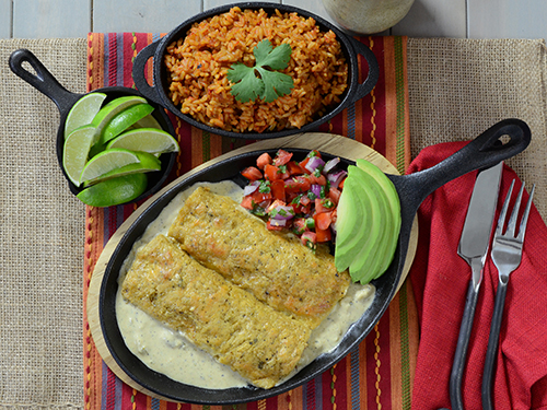 Excellent enchilada recipe for kamados like the Big Green Egg, Grill Dome, Kamado Joe, or Vision.