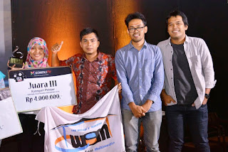 Hebat ! Film Pendek '' Terminal'' SMK 2 Kuripan Juara Nasional