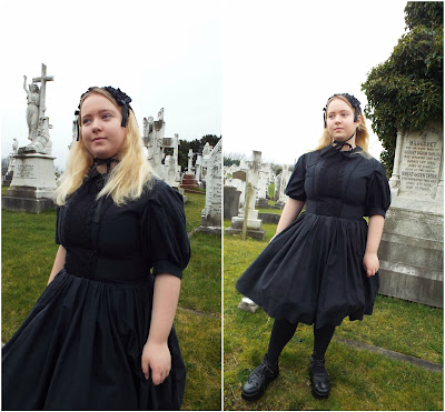 Victorian-Inspired Romantic Mourning OP Photos