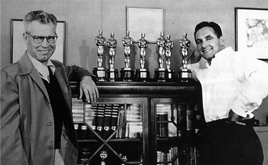 Hanna and Barbera, 7 Oscars for Tom and Jerry