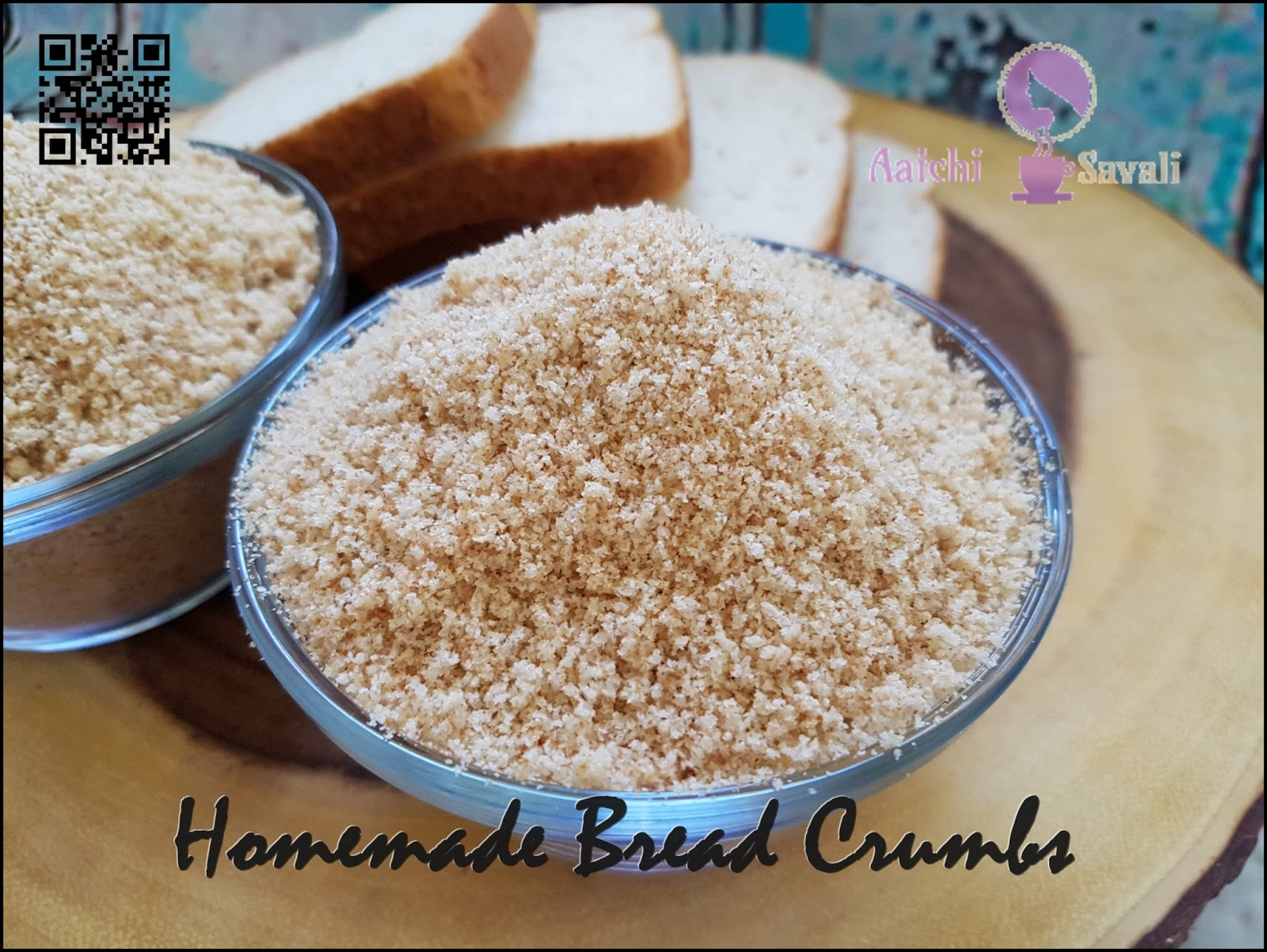 Diy series homemade bread crumbs aaichi savali how to make perfect bread crumbs without an oven and food processor homemadebreadcrumbs diybreadcrumbs i always love to find simple quick and easy forumfinder Gallery