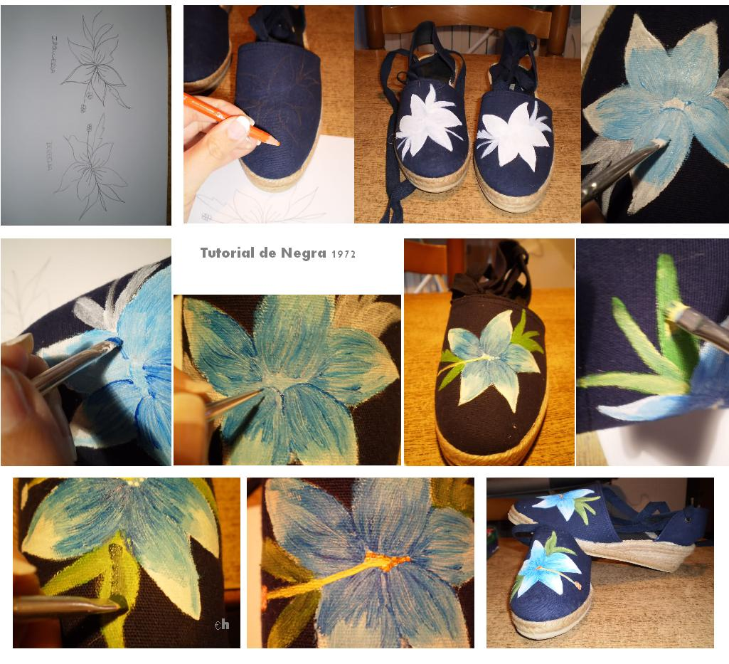 Enrhedando manualidades - Como pintar azulejos a mano ...