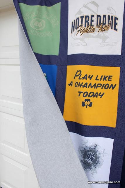 New T Shirt Quilt Blankets