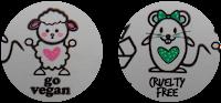 Selos da ratinha e da ovelhinha Linha Vegana e cruelty Free da linha Minha Lola Minha Vida com pH adequado para os cabelos