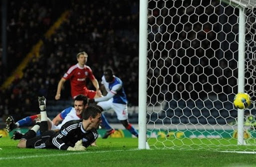 Scott Dann suffered groin injury during Blackburn Rovers' loss to West Bromwich Albion