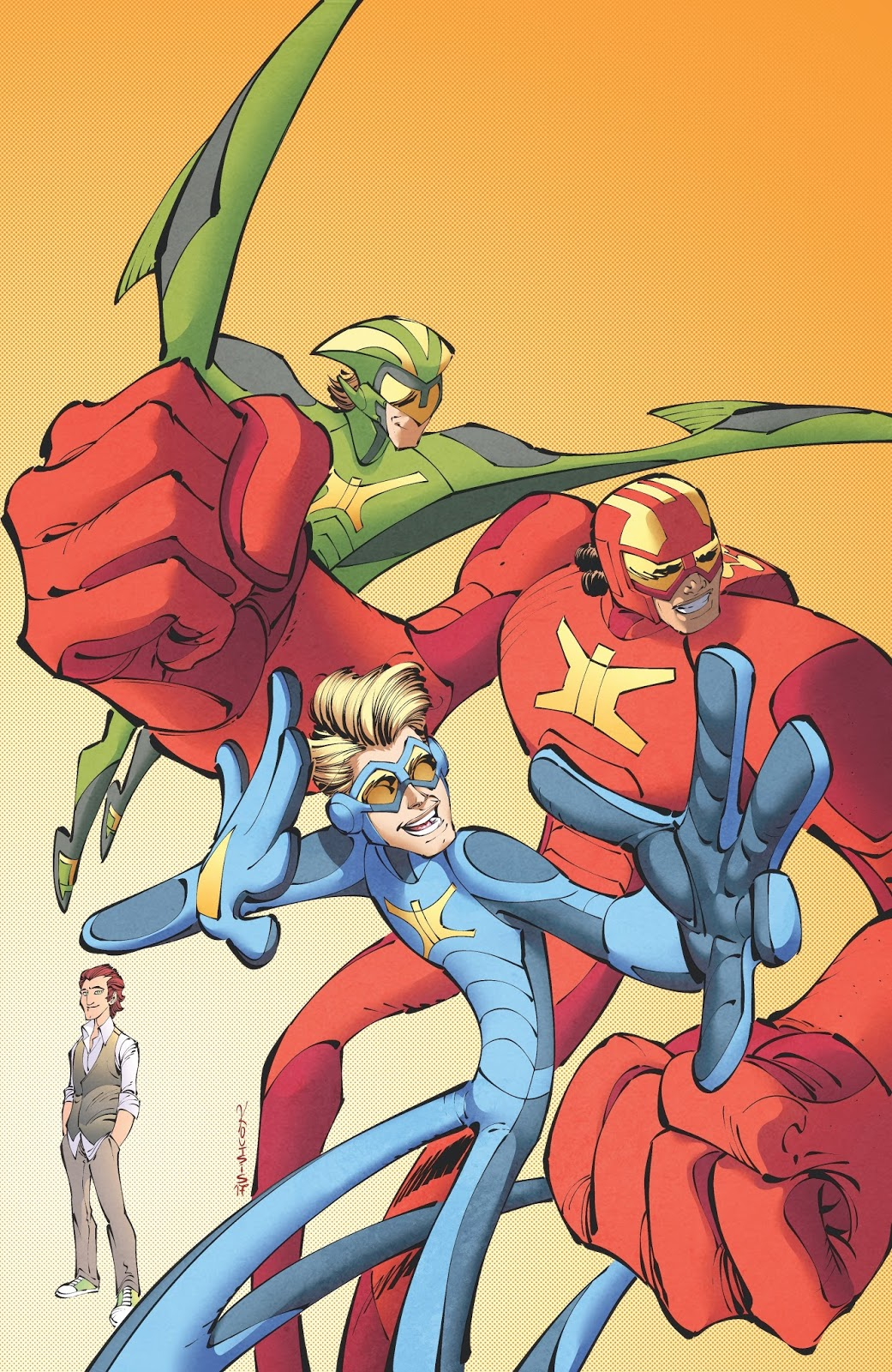 The Netflix Animated Series Stretch Armstrong And Flex Fighters Based On Hasbro Property Receives A Comic Book Tie In From IDW Publishing