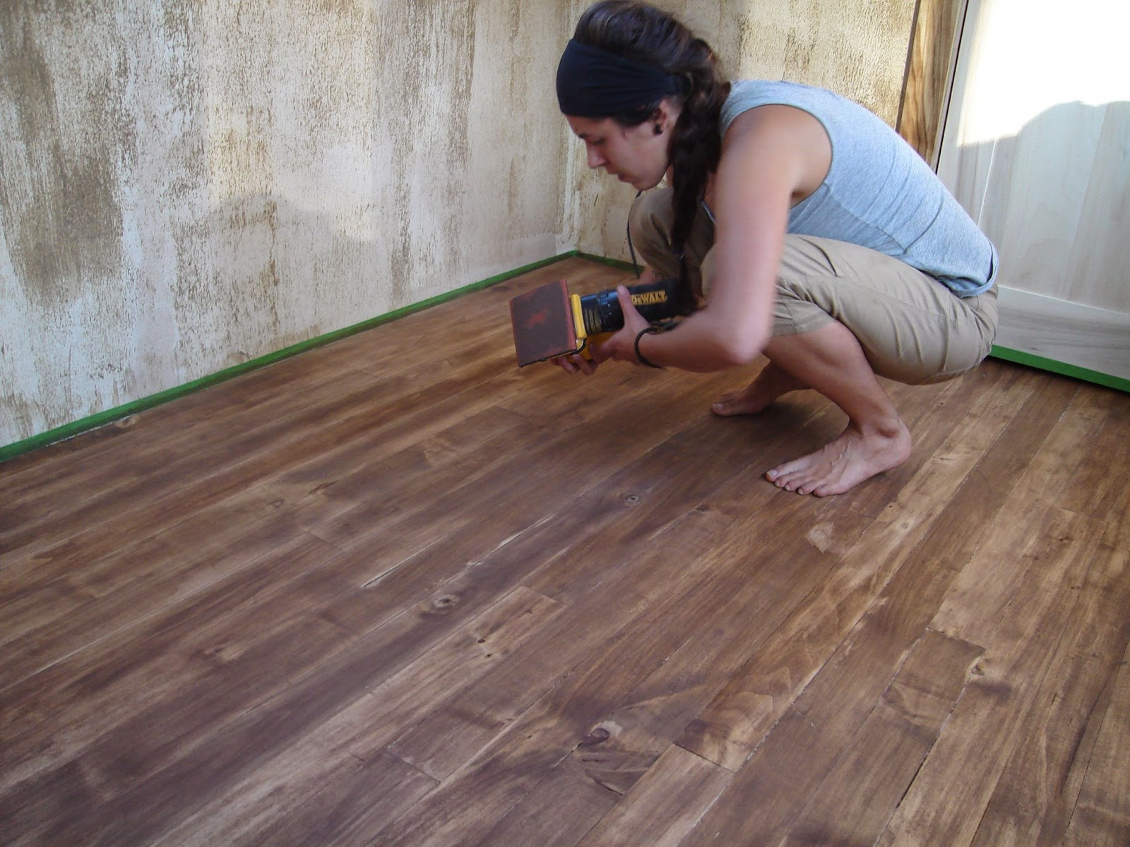 My Chemical Free House How To Staining Wood With Natural Pigments