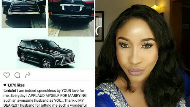 Fans Blast Tonto Dikeh For Claiming Her Husband Gave Her STDs; Tonto Replies