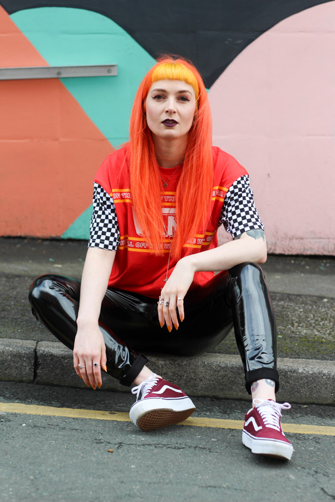 Alternative Blogger Foxxtailz Styles Vans Top