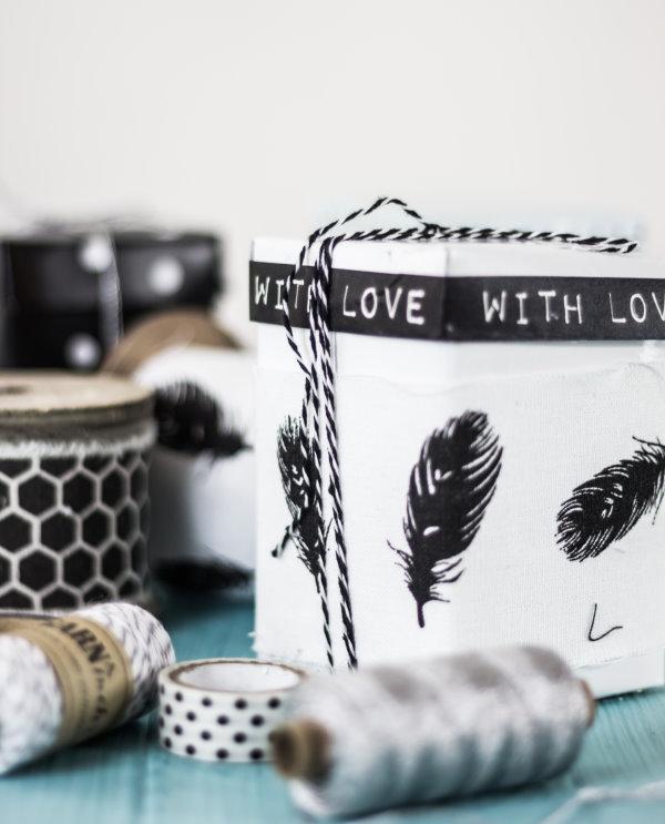 Mit Liebe verpacken: Do-it-yourself-Geschenkschachteln
