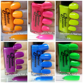 Neon polishes UK