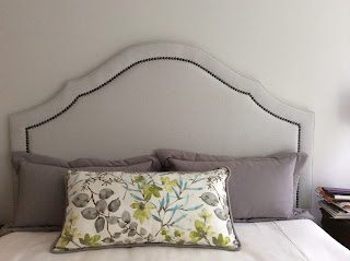 interior designer suggested headboard