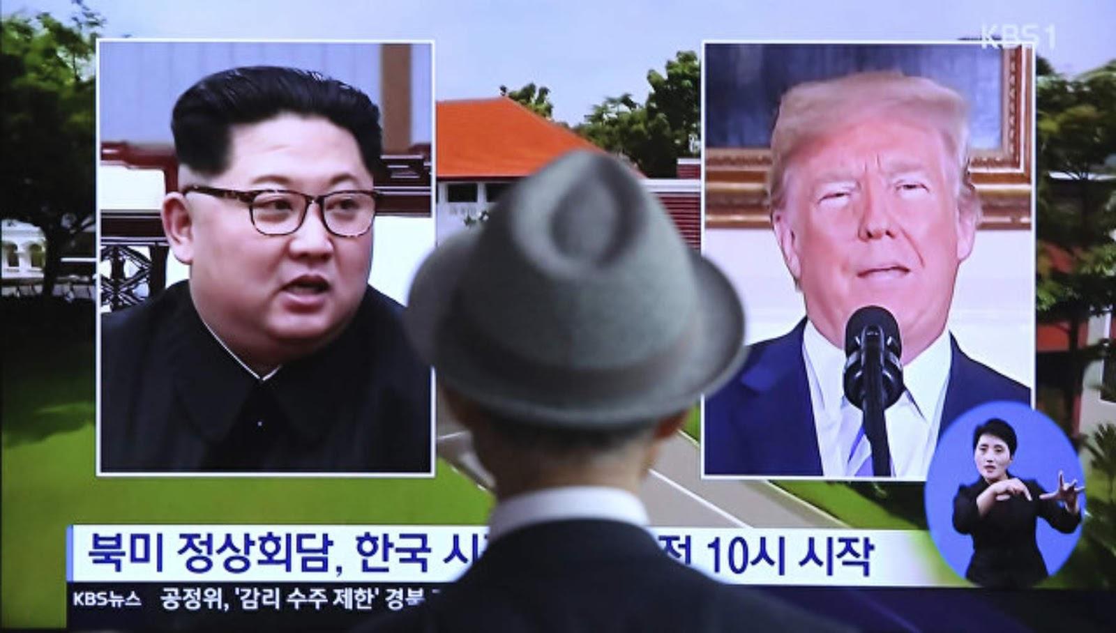Sejarah dan dinamika hubungan antara AS dan Korea Utara