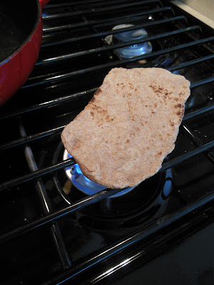 Easy 3 ingredients Whole Grain Flatbread