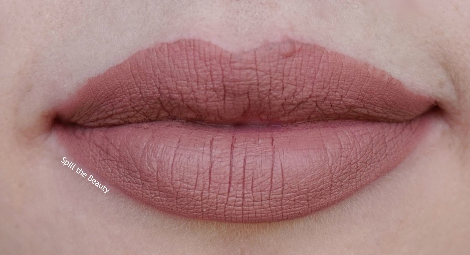 cool girl - lips too faced melted mattes review swatch
