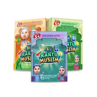 Kartu Muslim 3D - Kartu Pengajaran Agama Untuk Anak, Langsung Di Gadget Mereka