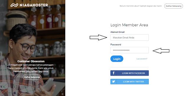 Cara Custom Blogspot Menjadi Domain TLD (COM) di NiagaHoster Super Cepat
