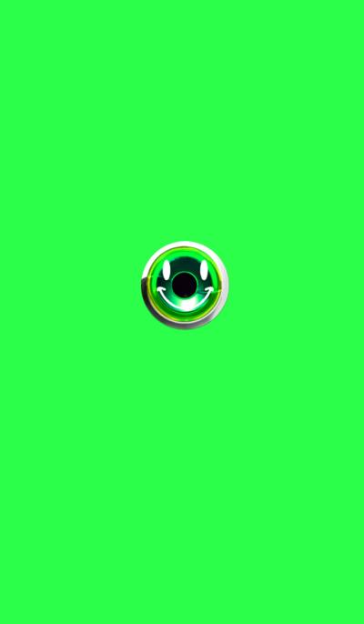 Healing green smile