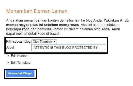 Cara Mendaftar DMCA Dan Memasang DMCA Di Blog