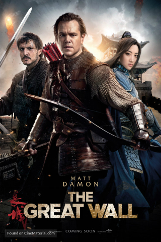The Great Wall [2016] [DVDR] [NTSC] [Custom HD] [Subtitulado]