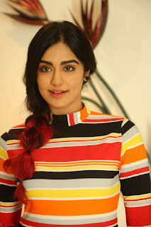 Adha Sharma in a Cute Colorful Jumpsuit Styled By Manasi Aggarwal Promoting movie Commando 2 (95).JPG