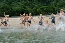 御立岬海水浴場海開き