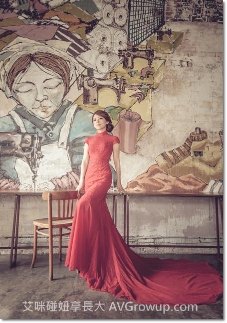 婚紗景點-婚紗餐廳-士林食尚曼谷-旗袍復古